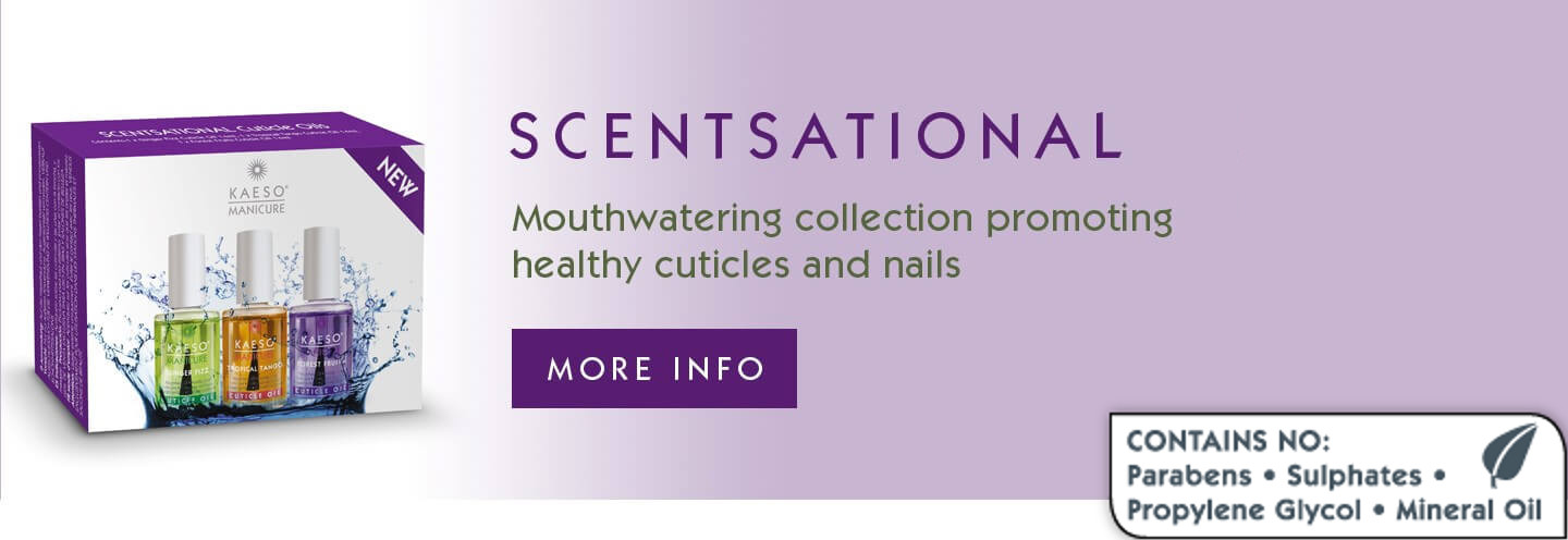 Mouthwatering collection promoting healthy cuticles and nails.